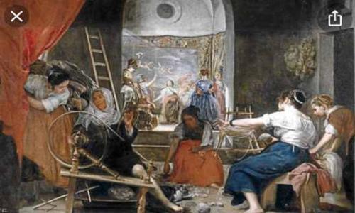 Las Hilanderas de Velázquez